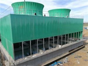山东永鑫化工集团方形4000吨冷却塔